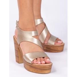 Sandale Dama Yolla Auriu