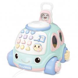 Jucarie interactiva de tras, cu sunete,telefon si sortator de forme