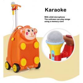 Troler muzical pentru copii Happy Monkey
