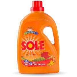 Detergent lichid italian sole pentru rufe colorate ,  2 litri - 40 utilizari