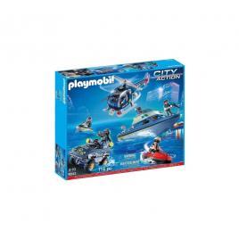 Playmobil city action - set vechicule de politie