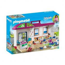 Playmobil city life - set mobil clinica veterinara