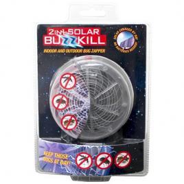 Aparat anti insecte buzzkill cu incarcare solara si lumina ultravioleta