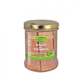 Ton in ulei de masline extravirgin bio zarotti 160g