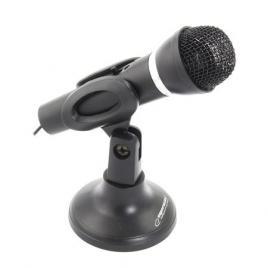 Microfon pc cu stativ birou jack 3.5 mm sing esperanza