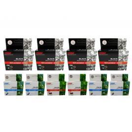 Pachet  cartus cerneala speed compatibil 4x bt6000bk negru 2x bt5000c cyan 2x bt5000m magenta 2x bt5000y galben 55200 pagini