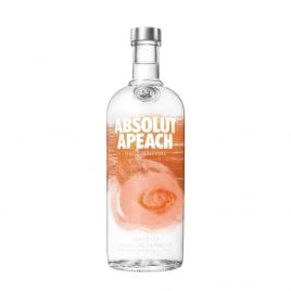 Absolut peach vodka, 1l