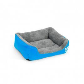Culcuş pentru căţei - 42 x 32 cm - Albastru