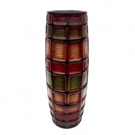 D'eco - Vaza multicolora - model raster - patrat