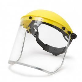 Ecran de protectie faciala integrala din plexi si banderola de cap