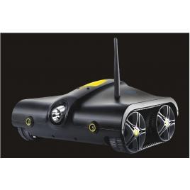 Mini tanc spion I-Spy Rover, wireless,negru