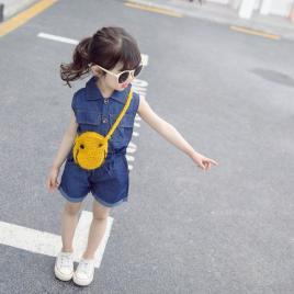 Costumas din blug subtire pentru fetite (marime disponibila: 2 ani)