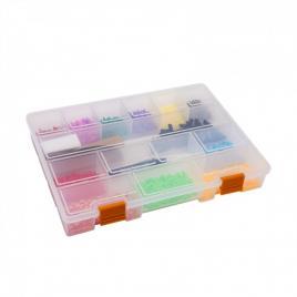 HANDY - Geantă plastic pentru stocare și sortare – 275 x 200 x 40 mm - 10979