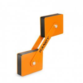 HANDY - Magnet de fixare dublu, articulat, pentru sudură - reglabil 360° - 22 kgf  magnet - 10883