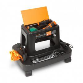 HANDY - Scaun de lucru pe rotile, cu compartimente pentru scule - 10998