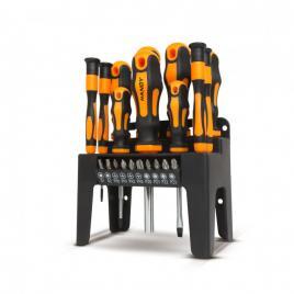 HANDY - Set şurubelniţe cu suport - 22 piese - 10700