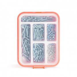 HANDY - Set şuruburi autofiletante - 3,5 - 5 mm - 210 piese  cutie - 04285
