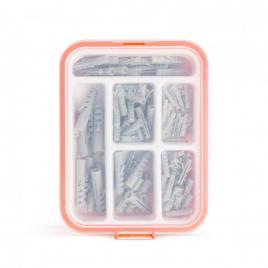 HANDY - Set dibluri din material plastic - 4-10 mm - 100 piese  cutie - 04286
