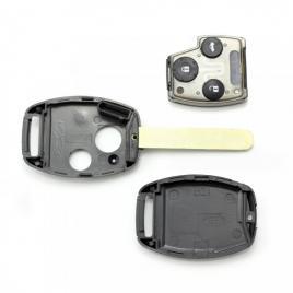 Honda Carcasa cheie, 2 butoane (cu soclu pentru chip)
