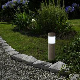 Lampă solară LED – imitație de piatră - 11265
