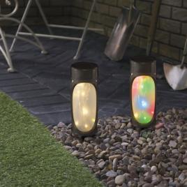 Lampă solară LED cu dispersor din plexiglas - 11253