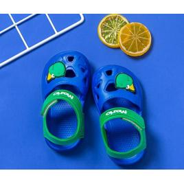 Papuci albastri tip sandaluta din cauciuc pentru baietei (marime disponibila:...