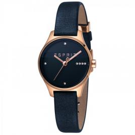 Ceas de dama, Esprit ES1L054L0045, cu bratara din piele, Negru
